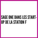 Sage One dans les start-up de la Station F